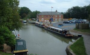 Pewsey Wharf - with the Waterfront for great food.