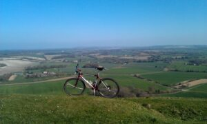 Cycling in the Vale of Pewsey