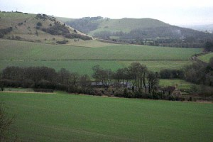 Pewsey Vale from the Marlborough Downs