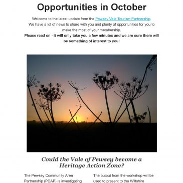 Autumn News from the Partnership