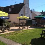 The Beer Garden at The Royal Oak