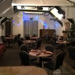 The function room at The Royal Oak