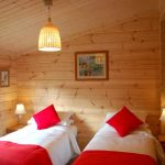Second bedroom in larger cabins